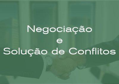 Negociação e Solução de Conflitos