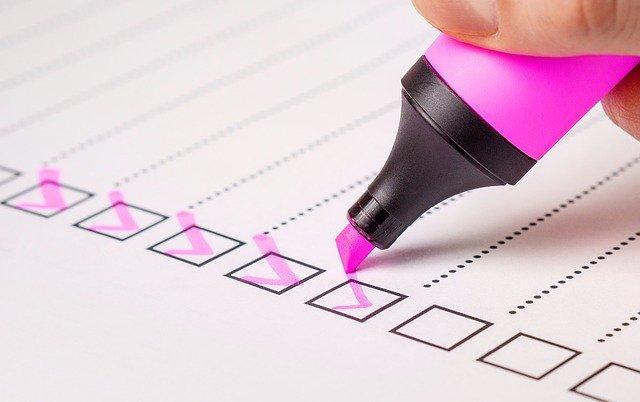 Checklist com 32 itens para a preparação de negociações