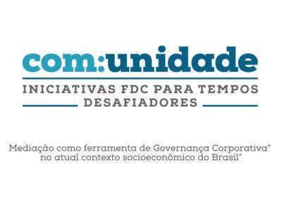 Mediação como ferramenta de Governança Corporativa no atual contexto socioeconômico do Brasil